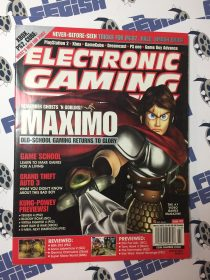 Electronic Gaming Monthly Magazine #152 March 2002 Maximo