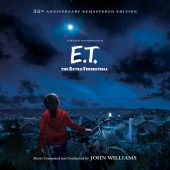 E.T. the Extra-Terrestrial: 35th Anniversary 2-Disc Re-Mastered Edition Soundtrack – Music by John Williams