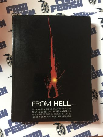 Alan Moore's From Hell (Movie Poster Adaptation Cover, 2001)