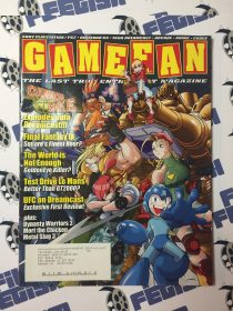 Game Fan Magazine Volume 8, Issue 10, October 2000 – Cannon Spike