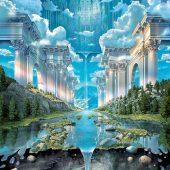 Genesis 24 X 36 inch Fantasy Art Poster