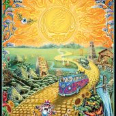 Grateful Dead Golden Road 24 x 36 Rock Music Concert Poster