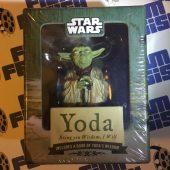 Yoda Figure + Illustrated Book of Wisdom: Bring You Wisdom, I Will (2010)