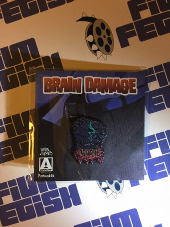 Limited Edition Brain Damage Enamel Collector Pin