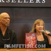 Mycroft Holmes 1st Edition signed by Kareem Abdul-Jabbar and Anna Waterhouse (Hardcover, 2015)