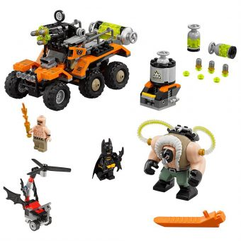 The LEGO Batman Movie Bane Toxic Truck Attack 70914 Building Kit