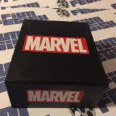 Marvel Comics Unisex Punisher Black Skull Stainless Steel Chain Pendant Necklace