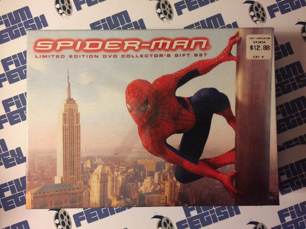 NEW SEALED Spider-Man Limited Edition Collector's DVD Gift Set (2002)