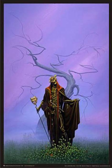 Michael Whelan's Destroying Angel 24 x 36 inch Fantasy Art Poster