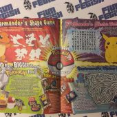 11 copies – Burger King Adventures Leaflet Magazine – Pokemon – Volume 10 Issue 8 + Happy Meal Bags Bundle (1999)