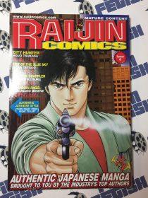 Raijin Comics Issue 0 – Authentic Japanese Manga – City Hunter