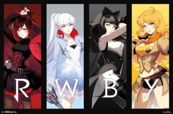 RWBY 34 X 22 inch Anime Poster