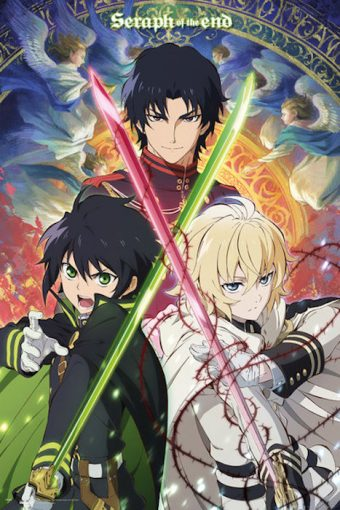 Seraph of the End 24 X 36 inch Anime Television Series Poster