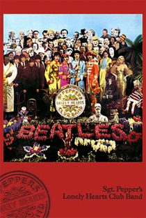 The Beatles Sgt. Pepper's Lonely Hearts Club Band 24 x 36 inch Music Poster – Album Cover
