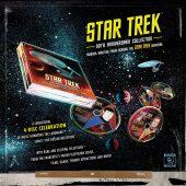 Star Trek 50th Anniversary Collection 4-Disc CD Set – Musical Rarities From Across the Star Trek Universe