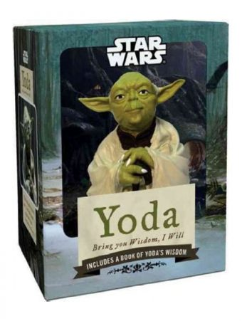 Yoda Figure + Illustrated Book of Wisdom: Bring You Wisdom, I Will (2010)
