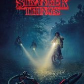 Stranger Things – Bikes 24 X 36 inch Television Series Poster