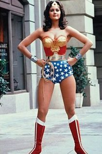 Wonder Woman Linda Carter Portrait 24 X 36 inch Television Series Poster