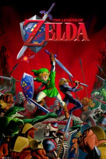 The Legend of Zelda – Battle 24 X 36 inch Game Poster