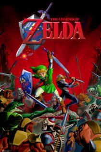 The Legend of Zelda – Battle 24 X 36 inch Game Poster