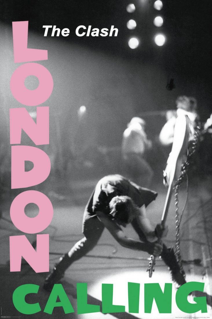 The Clash – London Calling Album 24 x 36 inch Music Album Poster
