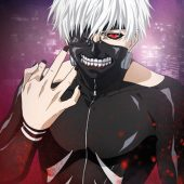Tokyo Ghoul Kaneki's Hand 24 x 36 inch Anime Series Poster