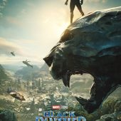 Black Panther Advance One Sheet 22 x 34 inch Movie Poster