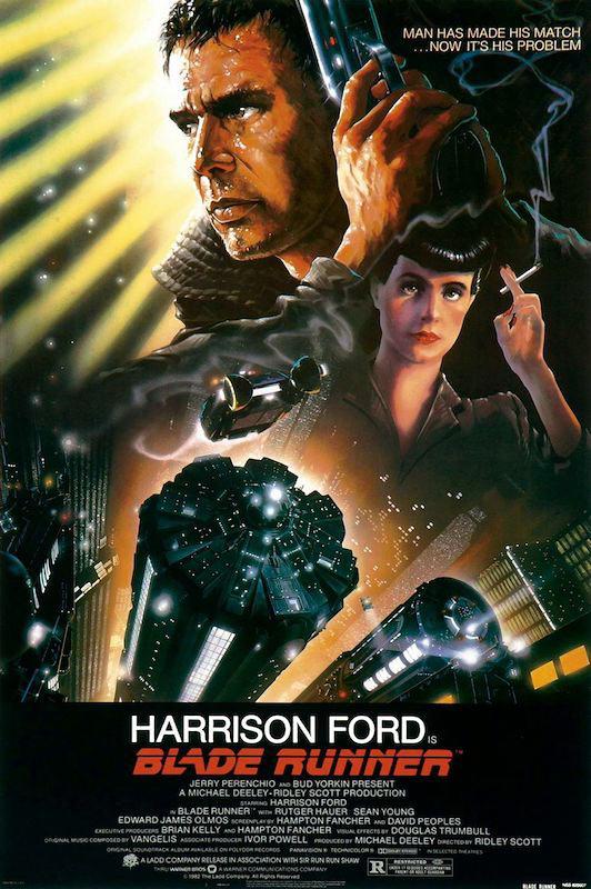 Blade Runner 24 x 36 inch Movie Poster