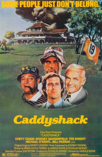 Caddyshack  24 x 36 inch Movie Poster