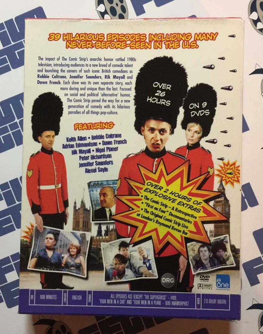 Comic strip presents box set dvd