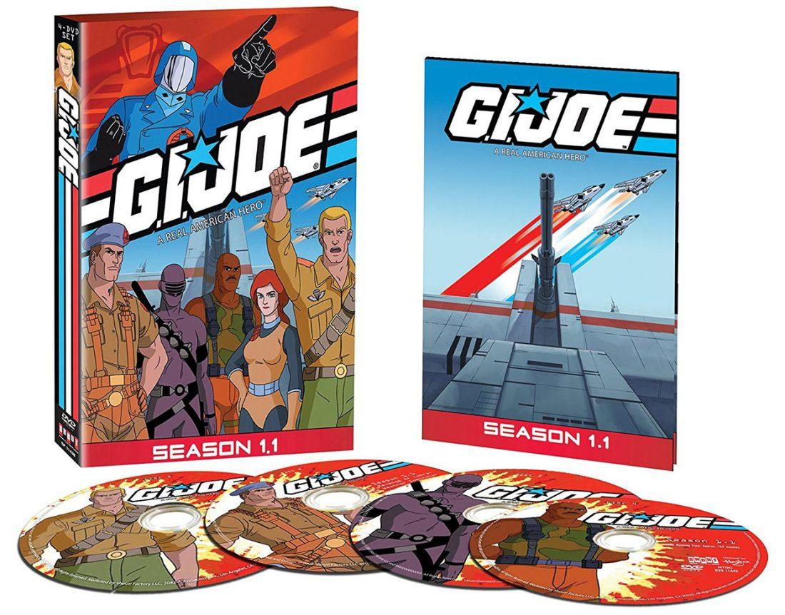 G.I. Joe A Real American Hero: Season 1.1 – 4 DVD Box Set