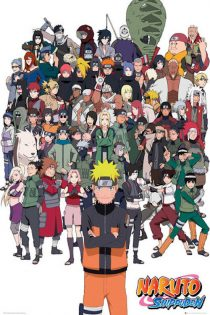 Naruto Shippuden 24 x 36 inch Anime Poster