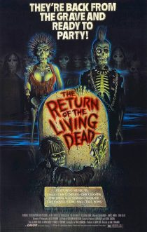 The Return of the Living Dead 24 x 36 inch Movie Poster