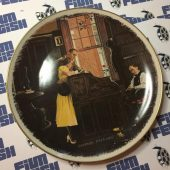 Norman Rockwell Limited Edition Gorham Fine China The Marriage License Plate Number B40069 (1976)