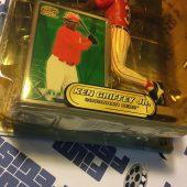 Hasbro Cincinnati Reds Ken Griffey Jr. MLB Starting Lineup Elite 2000 Figure with Pacific Trading Card