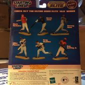 Hasbro Chicago Cubs Sammy Sosa MLB Starting Lineup Elite 2000 Figure with Pacific Trading Card