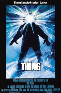 John Carpenter's The Thing Drew Struzan painted 24 x 36 inch Movie Poster