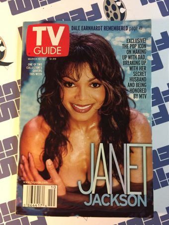 TV Guide Magazine March 10-16, 2001 – Janet Jackson Collector's Cover A