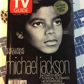 TV Guide Magazine Exclusive Interview Michael Jackson November 10-16, 2001 Gloria Reuben