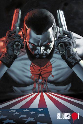 Valiant Comics Bloodshot Character Portrait 24 x 36 inch Poster