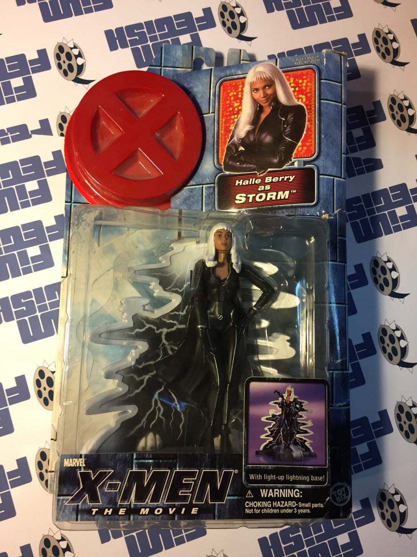 Marvel X-Men Movie Halle Berry as Storm Action Figure with Light-up Base