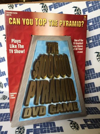 The $100,000 Pyramid DVD Game (Rare, Discontinued)