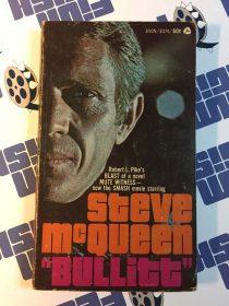 Steve McQueen's Bullitt Original Mass Market Paperback Novel by Robert L. Pike (1968)