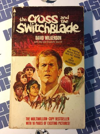 The Cross and the Switchblade by David Wilkerson Movie Tie-in Paperback Edition