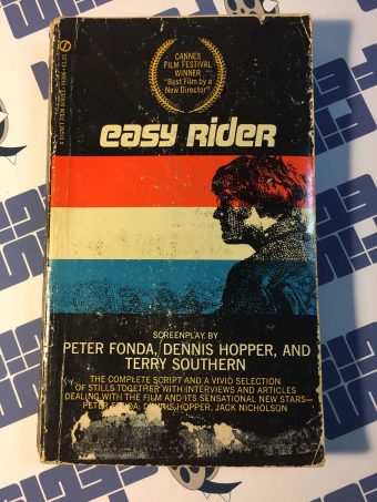 Easy Rider: Original Screenplay – Paperback Edition by Dennis Hopper, Terry Southern and Peter Fonda (1969)