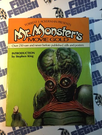 Forrest J Ackerman Presents Mr. Monsters Movie Gold with Introduction by Stephen King (1st Edition, 1981)