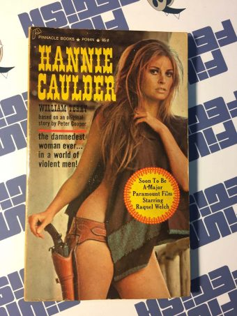 Hannie Caulder Paperback Novel Edition – Raquel Welch (1971)