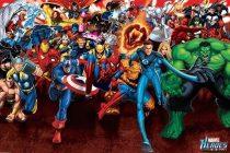 Marvel Superheroes Attack 36 x 24 inch Comics Poster