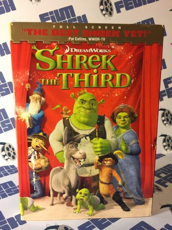 Shrek The Third DVD (with Embossed Slipcover)