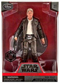 Star Wars: Episode VII – The Force Awakens Han Solo Die Cast Metal Elite Series Action Figure – ZS1